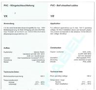 Edding 70I022, Bell Wire Cable , White Sheath 70I022 Data Sheet