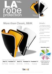 "be.ez La Robe 12"" iBook (black/white) 120064 Leaflet"