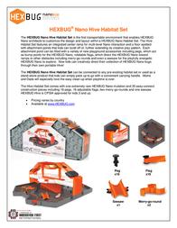 HEXBUG Hive Playset HB1993 Data Sheet