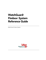 WatchGuard x1000 Verweisanleitung