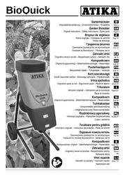 ATIKA bioquick 2500 User Manual
