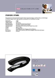 Novus C-Stabil 020-1530 Leaflet