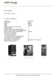 Whitenergy 06787 Leaflet