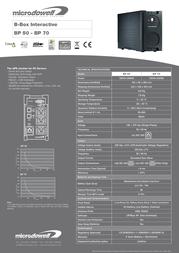 Microdowell B-Box Interactive BP 50 P201900A Leaflet