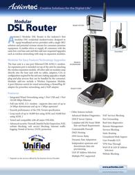 Actiontec Qwest DSL Wireless Module HWO05430-08CL User Manual