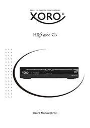 Xoro HRS 9200 CI+ SAT100535 Data Sheet