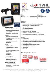 A-Rival NAV-PNX 35 M Leaflet