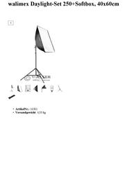Walimex 16301 Data Sheet