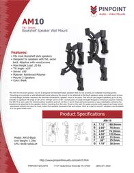 Pinpoint Mounts AM10-Black AM10-BLACK Leaflet