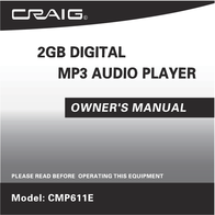 Craig CMP611E User Manual