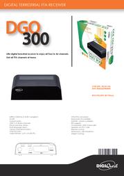 Digiquest DVB-T FTA32 RICD1143 Leaflet