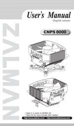 Zalman CNPS8000 User Manual