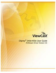 ViewCast 240E User Manual