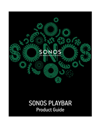 Sonos The Wireless HiFi System PLAYBAR User Manual