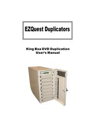 EZQuest DVD Duplication User Manual