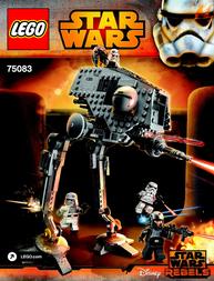 Lego Starwars LEGO® STAR WARS™ 75083 AT-DP PILOT™ 75083 User Manual