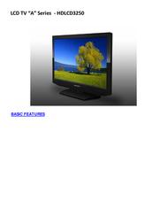 Sansui HDLCD3250 Leaflet