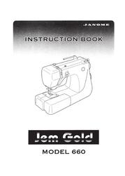 Janome 660 User Manual
