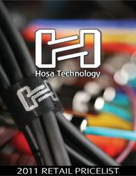 Hosa Technology GTR-010 GTR010 User Manual