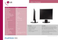 """LG L1750S-BN 17"""" TFT L1750S-BN Листовка"""