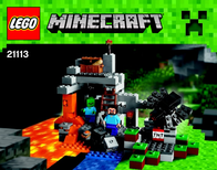 Lego Minecraft LEGO® MINECRAFT™ 21113 THE CAVE 21113 Data Sheet