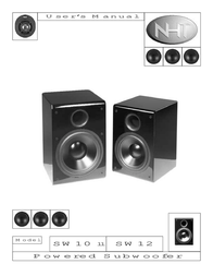 NHT Car Speaker SW 10 User Manual