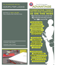PC Guardian Computer Lock Keyed 29RR-90 User Manual