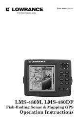 Lowrance lms-480df User Manual
