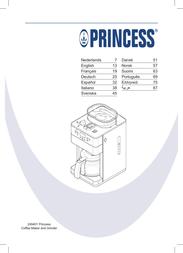 Princess 249401 User Manual