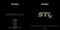 Beltronics STi-R Owner's Manual