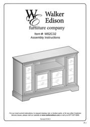 Walker W52C32BL User Manual