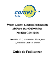 Comet Switch GSM424R User Manual