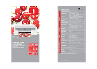 Olivetti SIMPLE_WAY B9354000 Leaflet