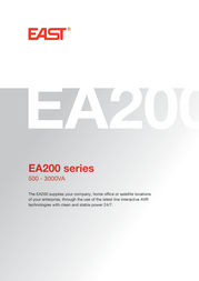 EAST EA2150-LCD User Manual