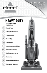 Bissell Heavy Duty Vacuum 50C9 Owner's Manual