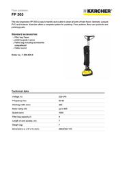 Kärcher FP 303 1.056-820.0 User Manual