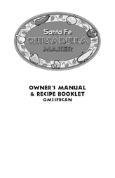 Toastmaster QM2sFRCAN User Manual