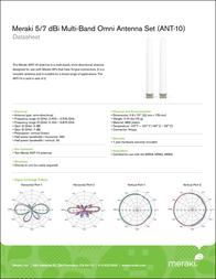 Meraki ANT-10 Leaflet