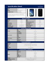 Kazam Trooper X4.5 TR4543-01 Leaflet