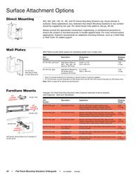 "Ergotron 3"" x 3"" Post Mounting Solutions Bracket 60-366-100 User Manual"