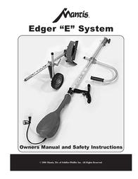 """Mantis """"E"""" System User Manual"""