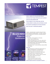 Tempest Blizzard Baby 6515.USI User Manual