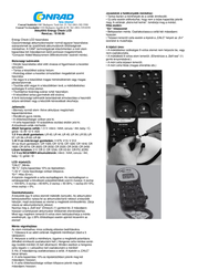 Ansmann ENERGY CHECK LCD 4000392 Leaflet