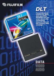Fujifilm DLTtape™ IV 42681 Leaflet