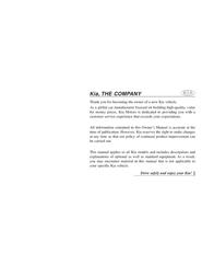 Kia Sportage 2013 Owner's Manual
