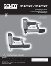Senco SLS20XP User Manual