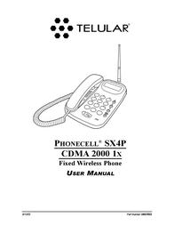 Telular CDMA 2000 1X User Manual