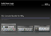 Solid State Logic MX4 User Manual