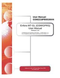Enfora GSM2218PB001MAN User Manual