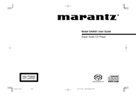 Marantz SA8001 User Manual